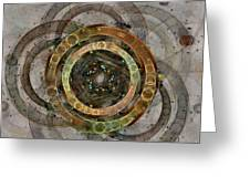 The Almagest - Homage To Ptolemy - Fractal Art Greeting Card