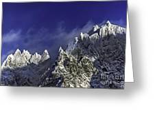 The Alps Greeting Card
