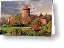 The Alte Burg Greeting Card
