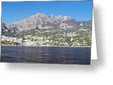 The Amalfi Coast - Panorama Greeting Card