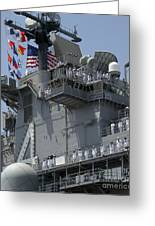 The Amphibious Assault Ship Uss Boxer Greeting Card by Stocktrek Images