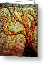 The Ancient Tree Of Wisdom Greeting Card