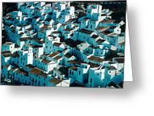 The Ancient Village Of Cacares Greeting Card