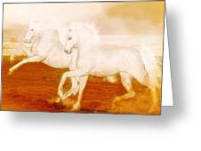 The Andalusians Greeting Card