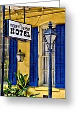 The Andrew Jackson Hotel - New Orleans Greeting Card