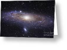 The Andromeda Galaxy Greeting Card