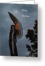 The Angel At Christmas Greeting Card