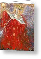 The Angel Of Life Greeting Card