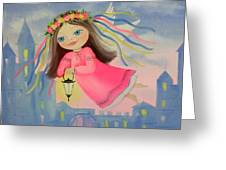The Angel Of Light Greeting Card