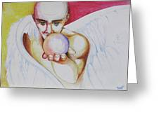 The Angel Of Potentials Greeting Card