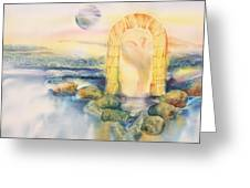 The Angel Within Greeting Card