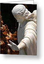 The Angels Warning Greeting Card