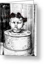 The Antique Doll's Head Greeting Card