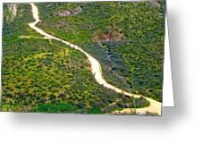 The Apache Trail Greeting Card