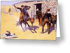 The Apaches Greeting Card