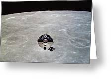 The Apollo 10 Command And Service Greeting Card