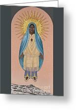 The Apparition Of St Kateri Tekakwitha 192 Greeting Card