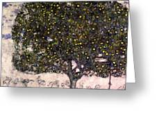 The Apple Tree II Greeting Card
