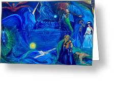 The Aquarian Family Tree  Greeting Card