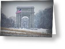 The Arch At Valley Forge Greeting Card