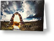 The Arch On The Edge Of Forever Greeting Card