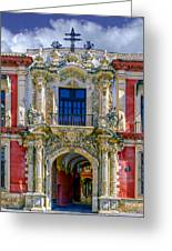 The Archbishop's Palace Of Seville Greeting Card