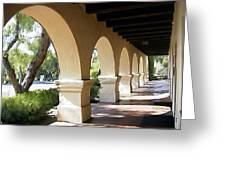 The Arches Mission Santa Ines Greeting Card