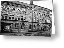 The Argent Centre And The Pen Room Birmingham Uk Greeting Card