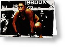 The Arm Collector Rondy Rousey Greeting Card