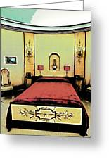 The Art Deco Bedroom Greeting Card