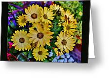 The Art In Flowers 5 Greeting Card