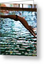 The Art Of Diving 5 Greeting Card