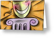 The Art Of Smiling Greeting Card