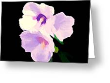 The Artful Hibiscus Greeting Card