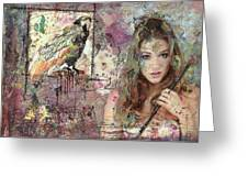 The Artist Greeting Card