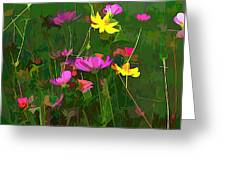 The Artistic Side Of Nature Greeting Card