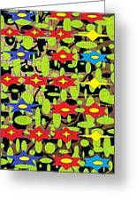 The Arts Of Textile Designs #42 Greeting Card