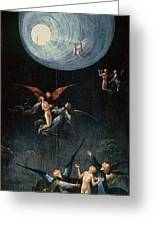 The Ascent Of The Blessed Hieronymus Bosch Greeting Card