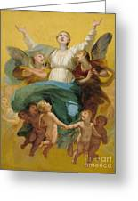The Assumption Of The Virgin Greeting Card