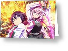 The Asterisk War The Academy City On The Water Greeting Card