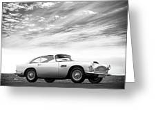 The Aston Db4 1959 Greeting Card