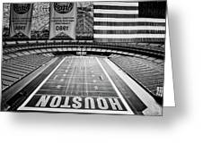 The Astrodome Greeting Card