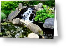The Babbling Brook Greeting Card