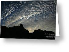 The Badlands At Dawn Greeting Card