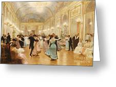 The Ball Greeting Card