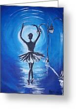 The Ballerina Dance Greeting Card