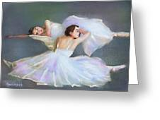 The Ballerinas Greeting Card