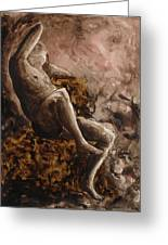 The Barberini Faun Greeting Card