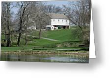 The Barn Along The Tulpehocken Greeting Card