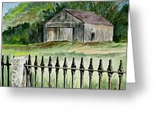 The Barn At Parsonsfield Maine Greeting Card